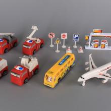 Комплект Летище с пожарни коли