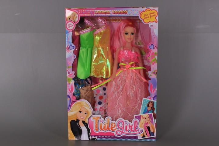 Кукла с 6 рокли