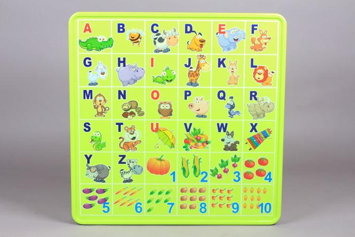 Маса - Английска азбука