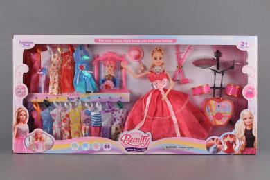 Кукли мама и детенце и 16 допълнителни рокли