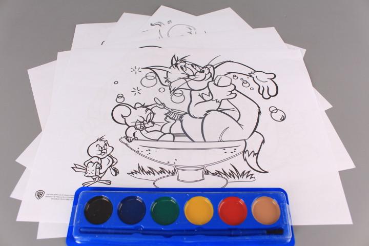 Комплект за оцветяване - TOM AND JERRY