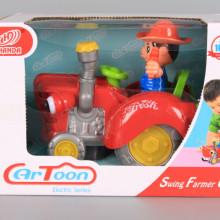 Фермер с трактор