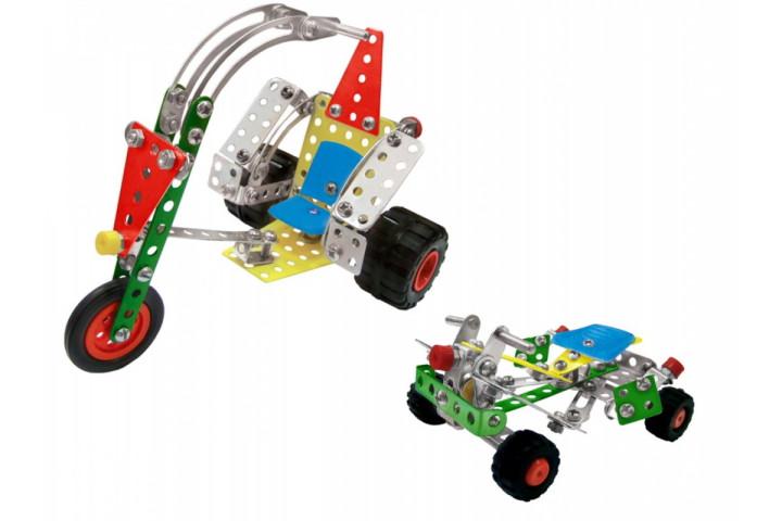Метален конструктор Мототранспорт