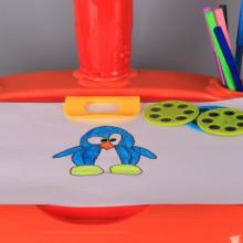 Чин с проектор, спирограф и столче