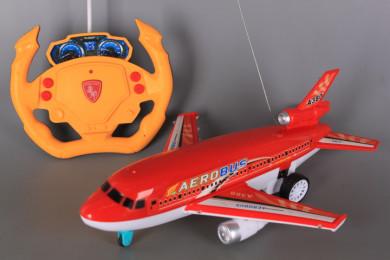 Радиоуправляем самолет с GRAVITY SENSOR