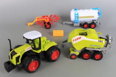 К-т Фрикционен трактор и инвентар