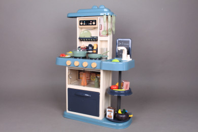 Кухня с мивка, пара и аспиратор-72 см.