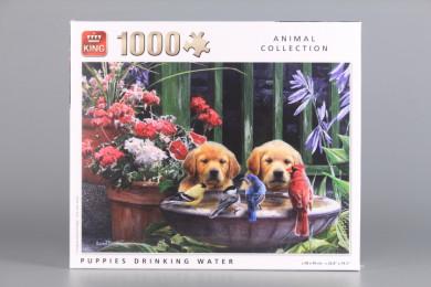 Пъзел Кученца - 1000 ел.