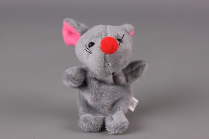 Плюшена животинка за куклен театър-напръстник