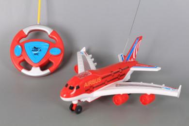 Радиоуправляем самолет с реалистични звуци и светлинни ефекти