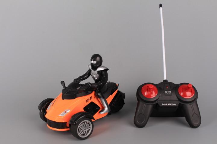 Радиоуправляем мотор с моторист и зареждащи се батерии