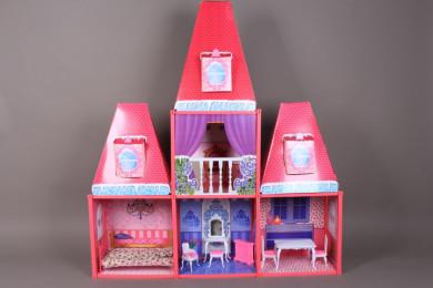 Къща за кукли-105*23*115 см