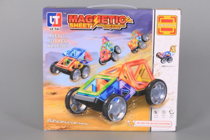 Магнитен конструктор-32 елемента