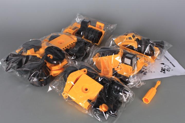 Строителни машини за сглобяване в куфар