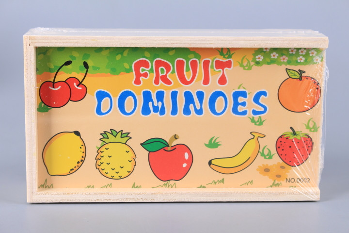Дървено домино Плодове
