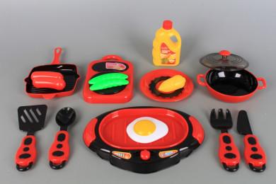 Кухненски комплект с грил плоча