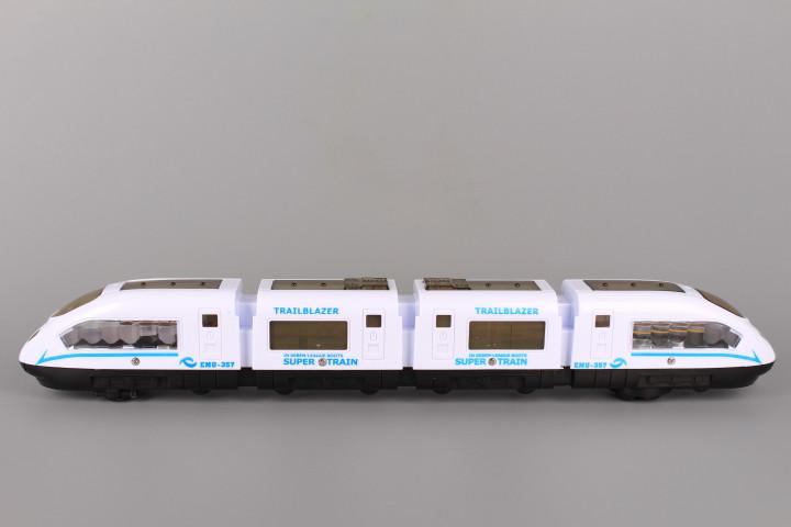 Влак с реалистични звуци и 4D светлинни ефекти