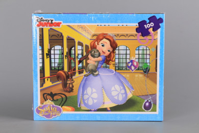 Пъзел SOFIA THE FIRST - 100 ел (35.5*48 см)