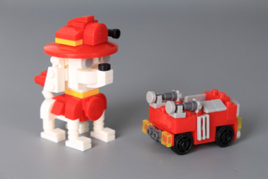 Конструктор Куче и машина