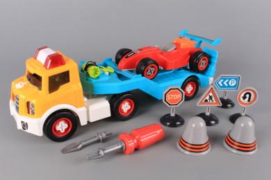Автовоз и болид - разглобяеми