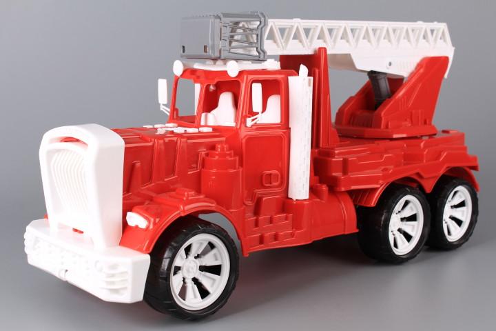 Пожарна кола с разтегателна стълба Фарго-52 см.