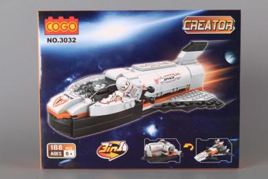 Конструктор Космическа совалка 3 в 1- 168 ел.