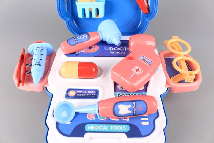 Докторски куфар - раница - 3 в 1