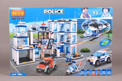 Конструктор POLICE - 950 ел.