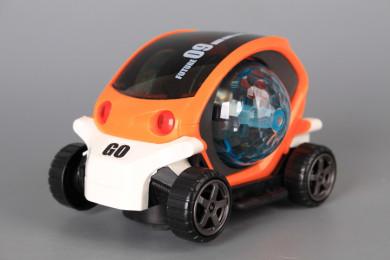 Музикална кола с 3D светлини