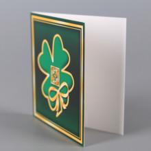 Картичка мини - Детелина