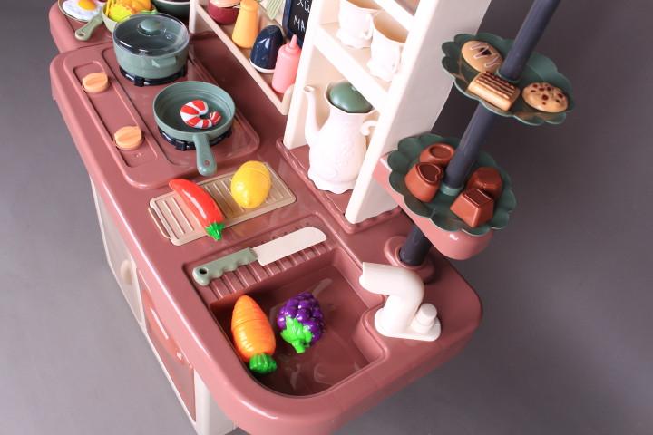 Кухня с мивка, пара, аспиратор и яйцеварка-93 см.