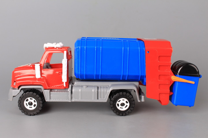 Сметовоз с контейнер - 27 см.