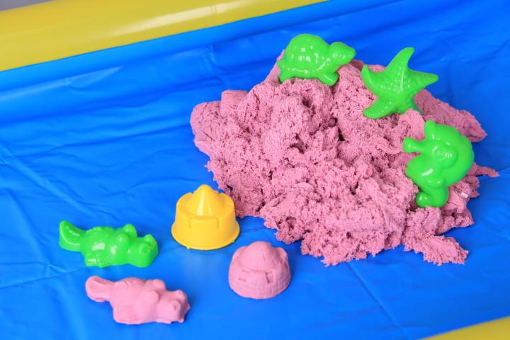 К-т Памучен пясък с формички и ваничка
