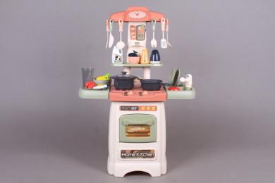 Кухня със светещи котлони, реалистични звуци и мивка - 62 см.
