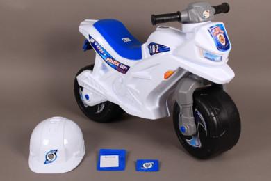 Полицейски мотор за баланс с реалистични звуци
