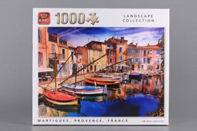 Пъзел MARTIGUES PROVENCE FRANCE - 1000 елемента