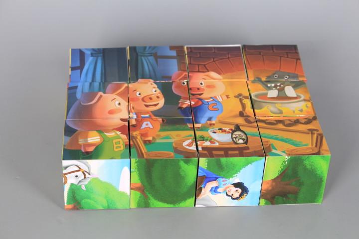 Кубчета с приказки-12 броя