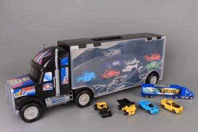 Камион и 13 машини