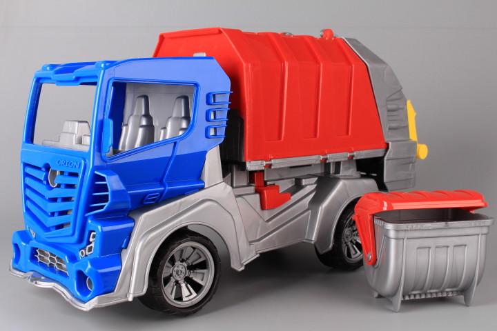 Сметовоз с контейнер-49 см.