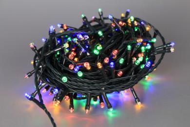 Коледни 180 LED цветни лампички - 14 m