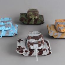 Метални танкове PULL BACK - 4 бр