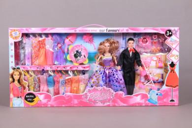 Кукли семейство и 18 рокли