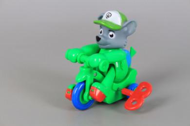 Кученце на мотор с ключе