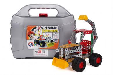 Метален конструктор строителни машини-7 модела