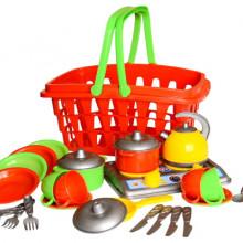 Кухненски комплект в кошница