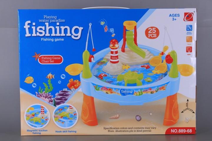 Риболовен комплект със звук и светлина