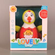 Забавна кокошка с реалистични звуци и светлинни ефекти