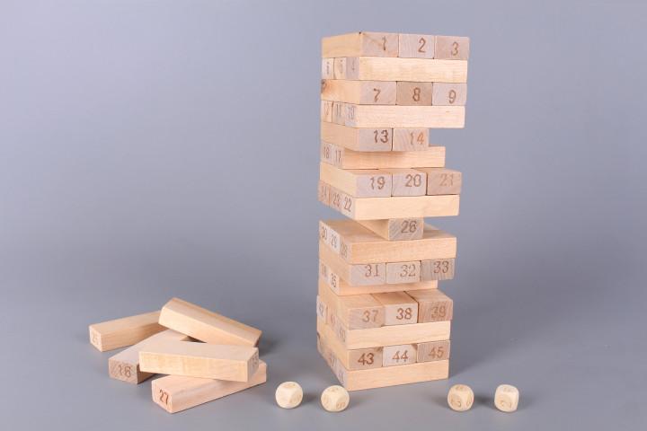 Дървена игра Дженга