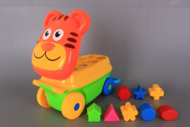 Тигър за бутане с формички-сортер