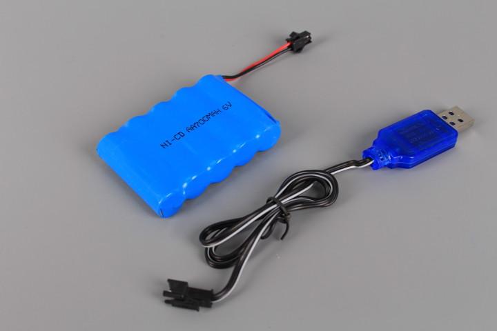 Джип радиоуправляем със зареждащи се батерии